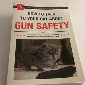 Funny Paperback Cat Book